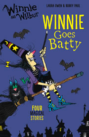 cover - Winnie Goes Batty