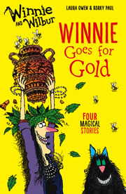 cover - Winnie goes for Gold