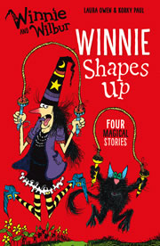 cover - Winnie Shapes Up