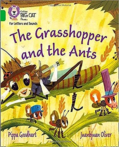cover - The Grasshopper and the Ants