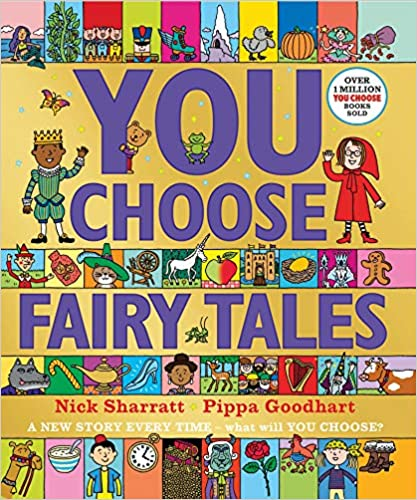 cover - You Choose Fairy Tales