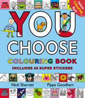 cover - You Choose colouring book