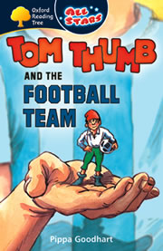 cover - Tom Thumb and the Football Team